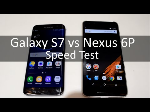 Galaxy S7 Edge VS Nexus 6 P