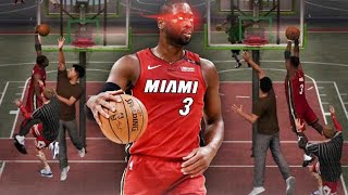 99 OVR DWYANE WADE FAREWELL TOUR on NBA2K19 MyPARK
