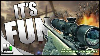 Call of Duty Modern Warfare 2 - Sniping is Fun (PC Gameplay)