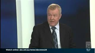 Interview with Rod North on ABC News Breakfast 27 May 2014