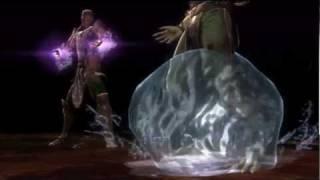 Mortal Kombat Rain Fatalities/Babality/Ending