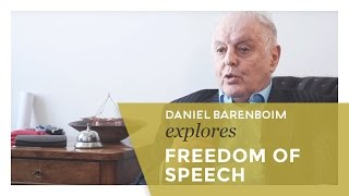 Daniel Barenboim | Explores... Freedom of Speech [subtitulado]