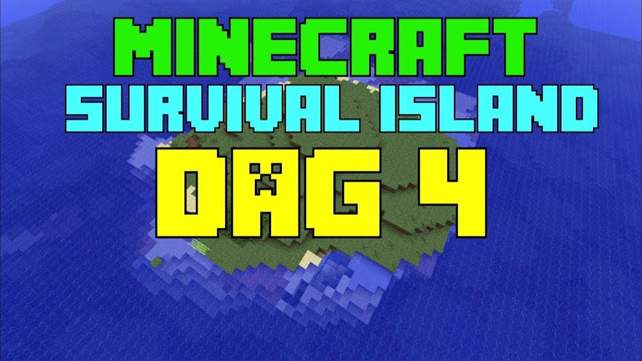 Minecraft Survival Island Dag ALIENS EN EEN GEHEIME GROT - Minecraft geheime hauser