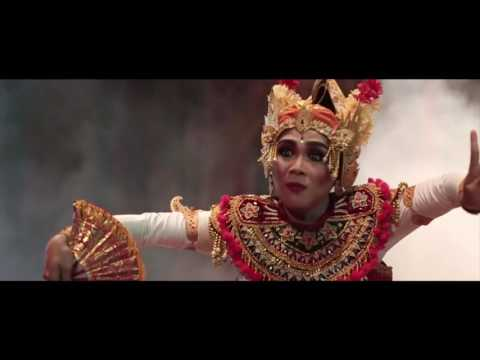 "Fusion Balinese and Indian Classical Dance  ""Kathak"" in Bali"
