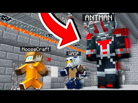 ESCAPE ANTMAN AND THE WASP IN MINECRAFT!
