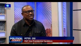 Nigeria's Economy: Peter Obi Condemns FG's Borrowing Plans  Politics Today 