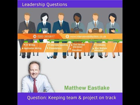 Interview Question Managing Team and Projects