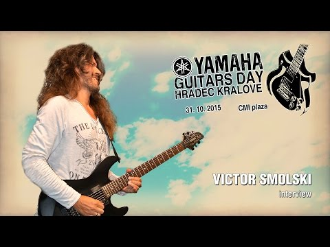 Yamaha Guitars Day 2015 - Victor Smolski (interview)