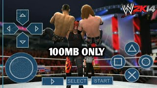 HOW TO DOWNLOAD WWE 2K14 PPSSPP ONLY 100 MB