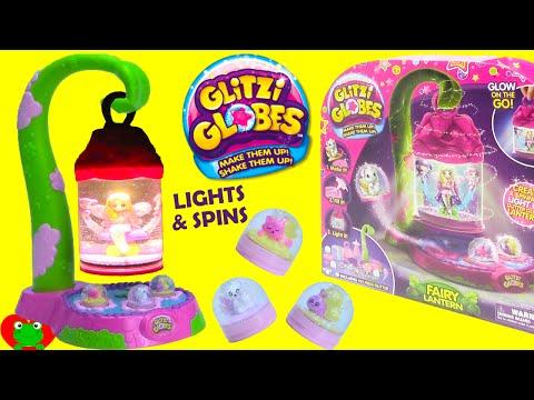 Glitzi Globe Fairy Lantern Lights and Spins