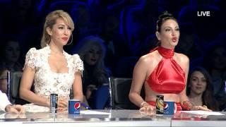 "X Roads - ""Ai se eu te pego"" - X Factor Albania 4 (Netet LIVE)"