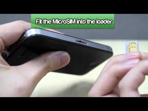 How to Insert a SIM Card into Apple iPhone 4