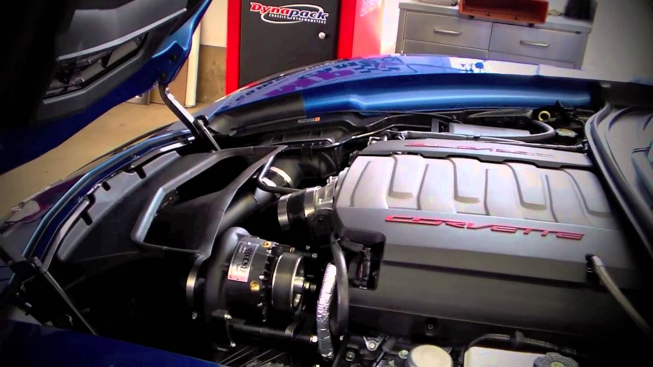 Ecs Novi 1500 Supercharger System For 14 C7 Corvette