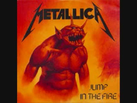 Metallica - Jump In the Fire single (Studio Version)