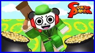 Roblox Leprechaun Sim 4 LEAF CLOVERS ARE ALL MINE Let's Play with Combo Panda