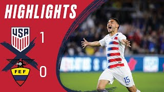 MNT vs. Ecuador: Highlights - March 21, 2019
