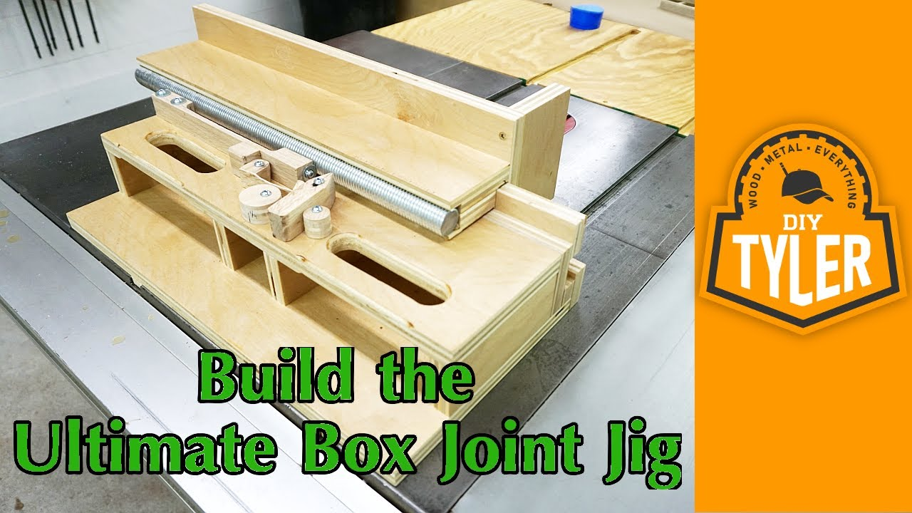 Building The Ultimate Box Joint Jig John Heisz Design