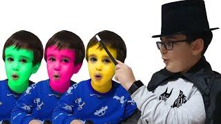 Buğra Sihirbaz Oldu. Eğlenceli Çocuk Videosu