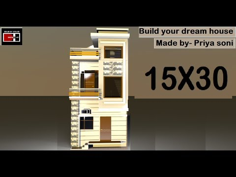 15X30 made by priya soni on build your dream house