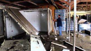Steven Working On The Cold Storage Demo