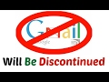 Gmail To Be Discontinued From 8th february | Must Watch