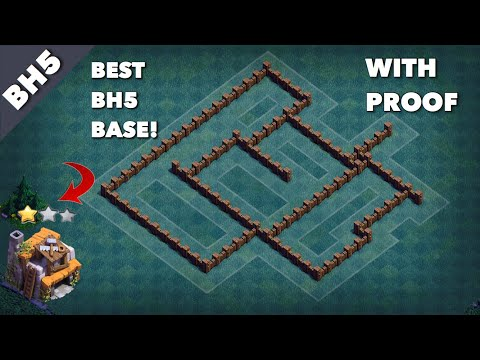 BEST BUILDER HALL 5 BASE (BH5) WITH PROOF | ANTI 1 STAR