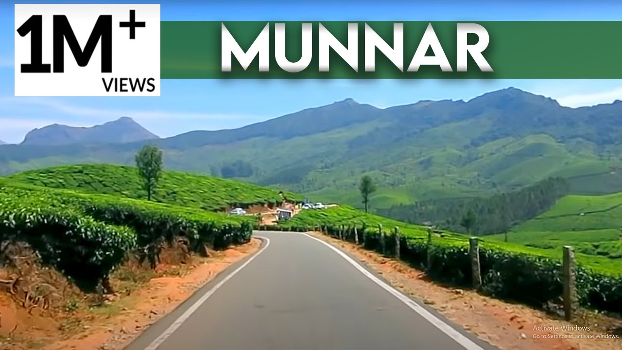Munnar The Most Beautiful Place In India Amazing Munnar Kerala Tourism Youtube