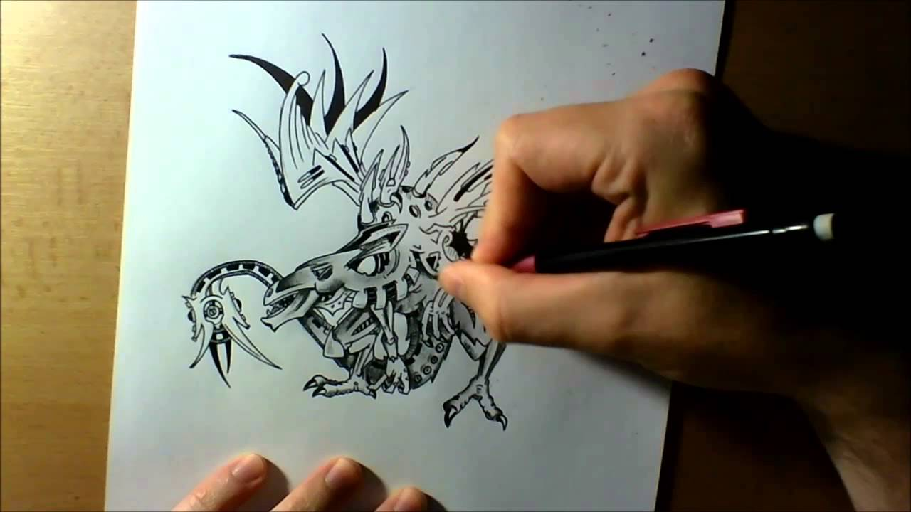 Kresba Draka Drawing Dragon Youtube