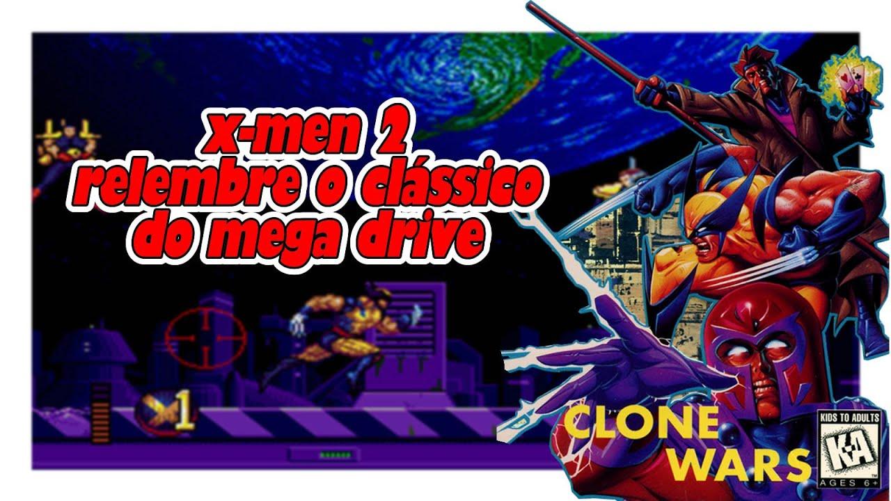 X MEN 2 - CLONE WARS | Relembre o clássico do Mega Drive
