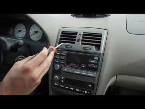 Nissan Maxima Factory Radio Removal Replacement Youtube