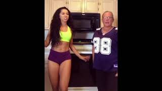 Sexy BRITTANY RENNER and AUNT Are Down For The 'D' Challenge (VIDEO)