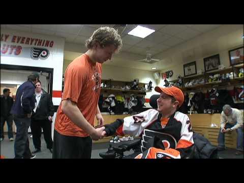Flyers Make Teen's Dream Come True