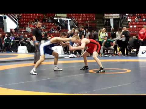 2016 Canadian Senior Championships: 57 kg Alex Moher vs. Dylan Bray