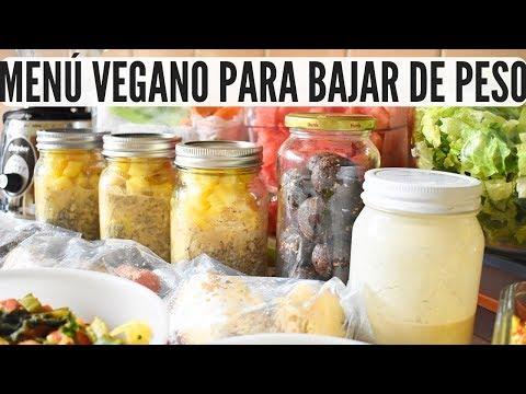 comidas veganas gestation apearse de peso