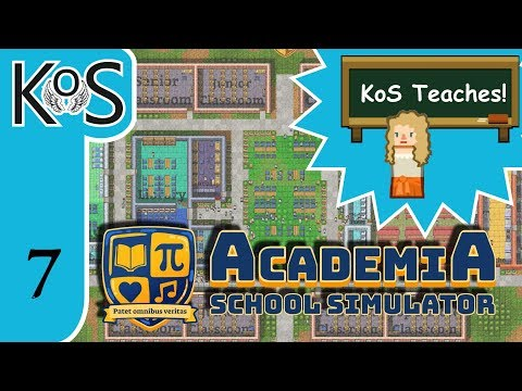 Academia: School Simulator Ep 7: ILLNESS INVESTIGATION - First Look - Let's Play, Gameplay