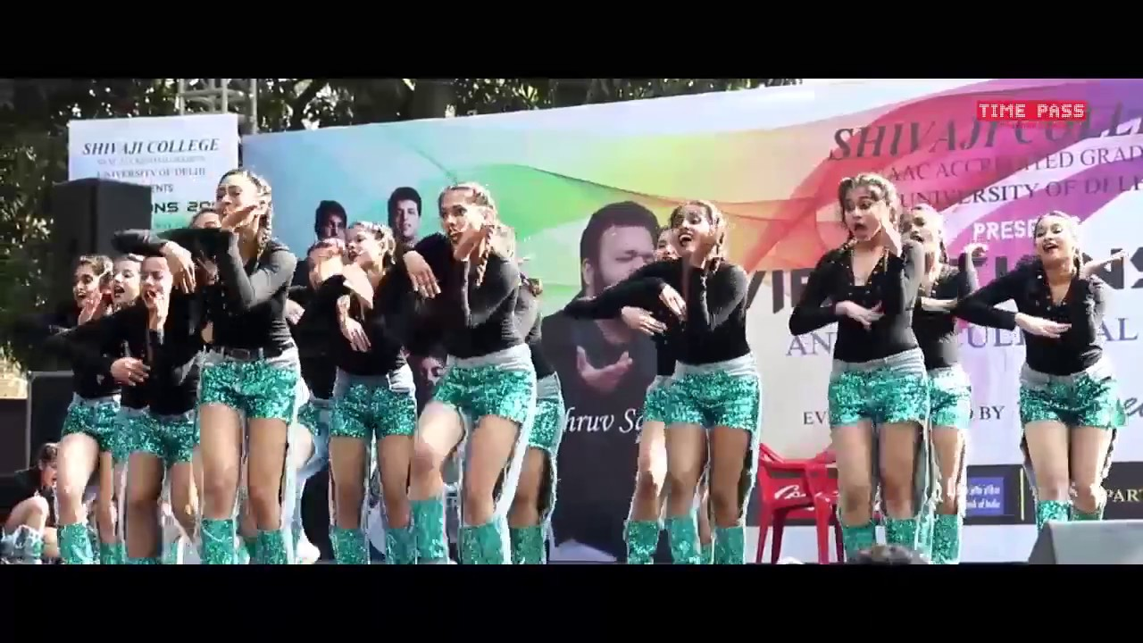 Afroza Dance Performance @ Tanzflache Dance Competition I Shivaji  Vibrations 2017 Fest