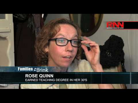 Families on the Brink: Rose's Story - Works 4 Jobs, Yet Struggles to Make Ends Meet