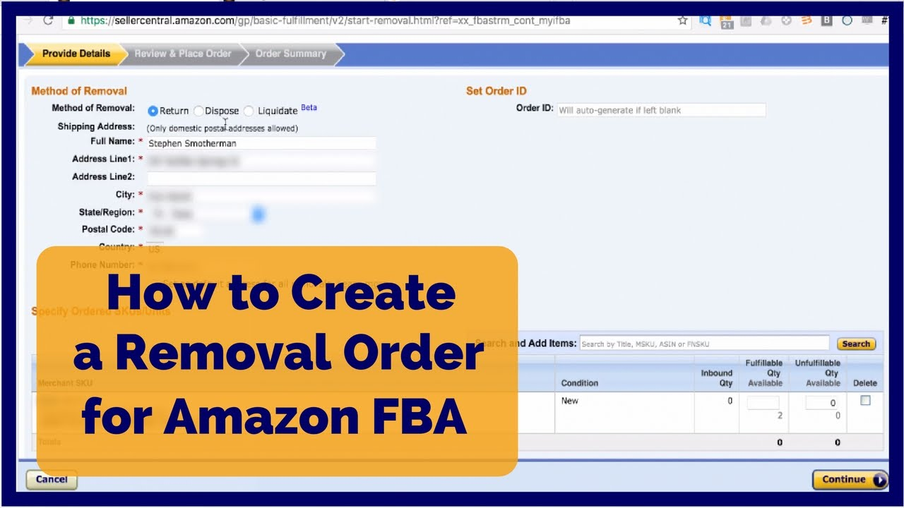 Amazon's Inventory Liquidation Program - How to Get Paid for