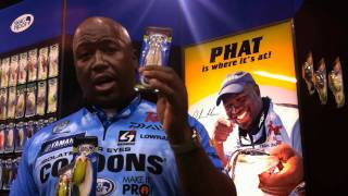 Ish Monroe discusses the new colors of his Snag Proof Phat Frog - ICAST 2011