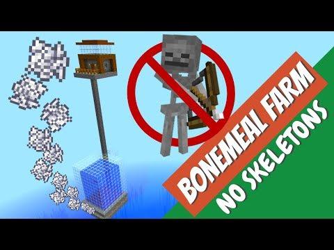 How To Make A Bonemeal Farm In Minecraft: Easy Minecraft Fish Farm With Avomance