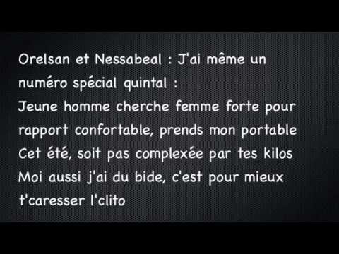Nessbeal Ft. Orelsan - Ma Grosse - Paroles