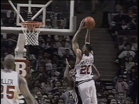 Young Allan Houston - 24 Points vs. Spurs (1995)