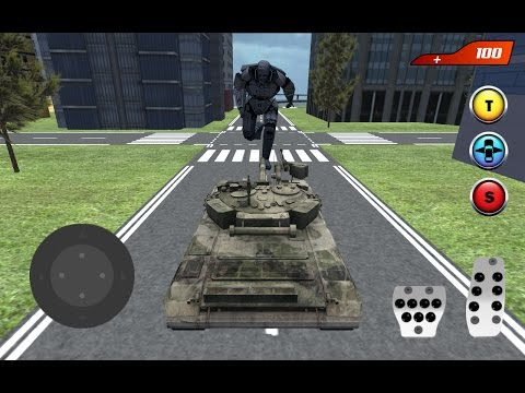 X Ray Flying Tank Robot (By Omsk Games) Android Gameplay HD