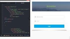 HTML & PHP Loginsystem // Einfach // Folge 1