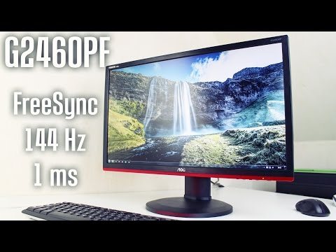 AOC G2460PF - 144 Hz 1ms Gaming Monitor!