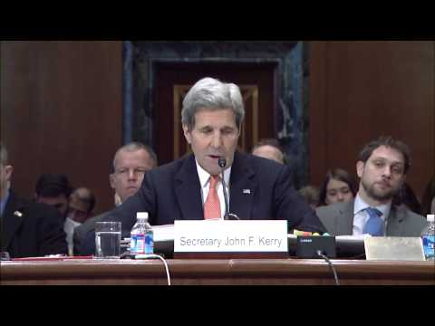 Secretary Kerry Testifies Before the Senate Appropriations Committee on Foreign Operations