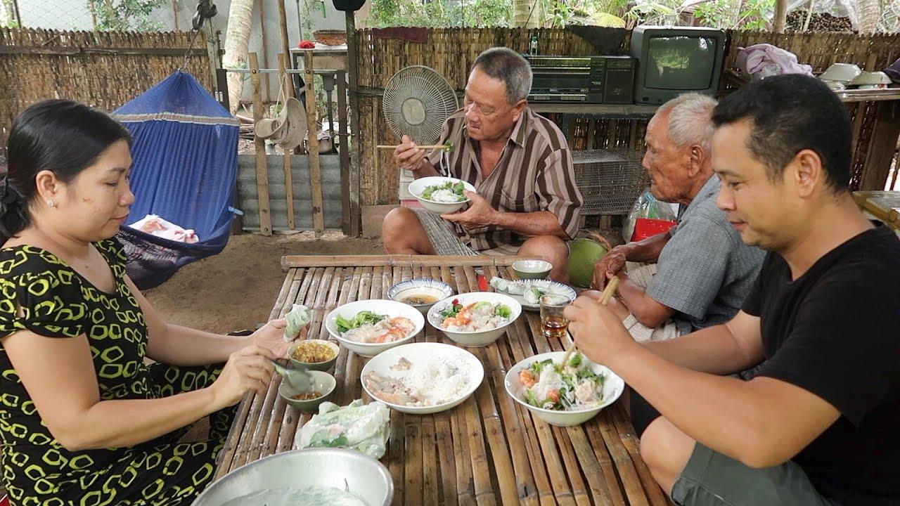 Bún thịt luộc tôm sú Bạc Liêu #420 | 7 Thuận