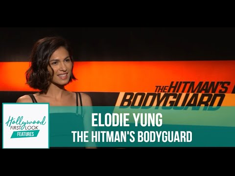 Elodie Yung talks French, Ryan Reynolds & more! | The Hitman
