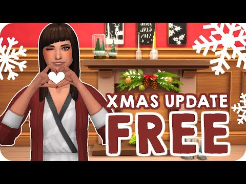 NEW HAIRS, SCARY YETI COSTUME, TALKING SPEAKERS & MORE | Sims 4 FREE Holiday Update