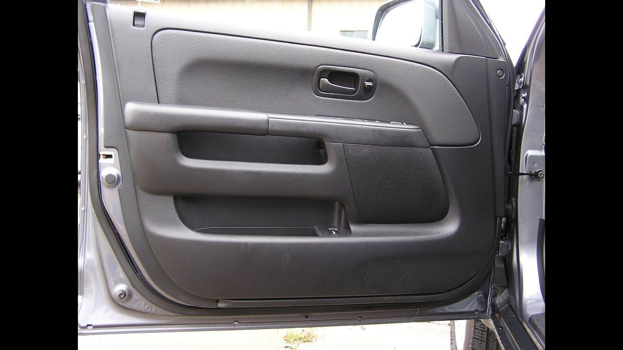 Honda Crv Speaker Removal Front Door Speaker Youtube